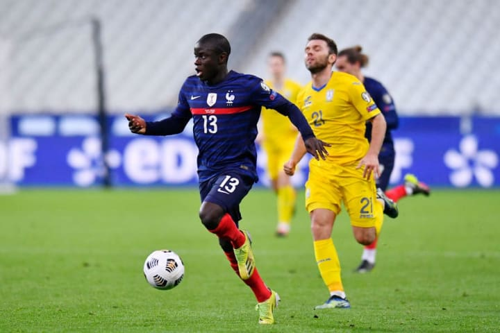 Kante pulled out of the France squad and returned to Chelsea early