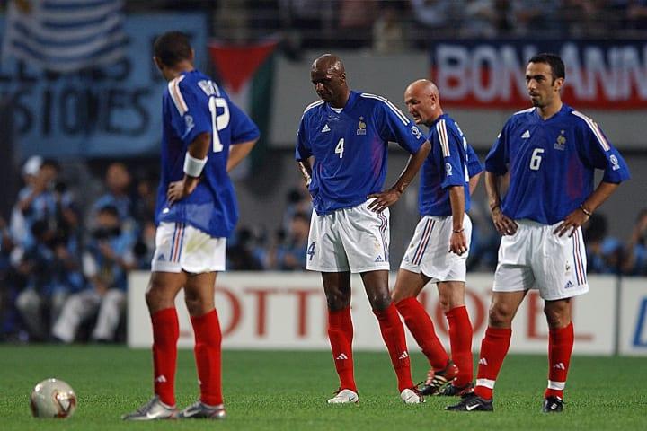 Youri Djorkaeff, Patrick Vieira, Thierry Henry, Frank Leboeuf