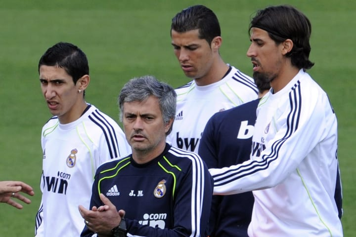 Khedira was a key part of Mourinho's counter-attacking machine during Real Madrid's title-winning 2011/12 season