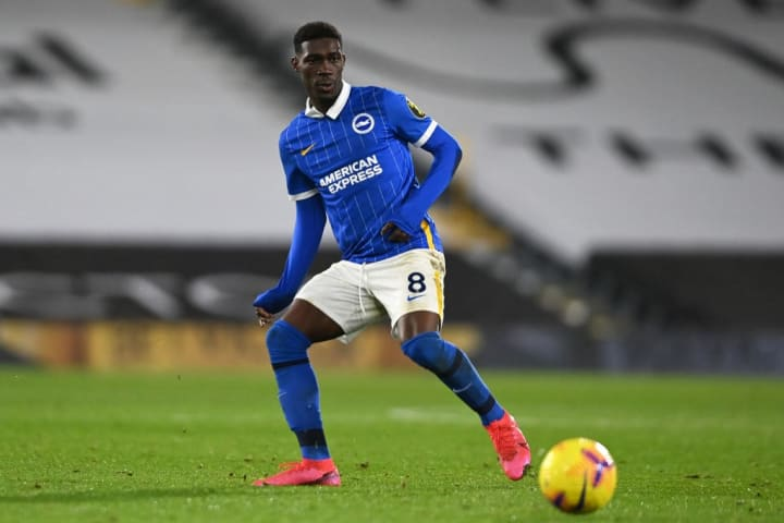 Yves Bissouma has flourished under Potter's management - and is now a wanted man