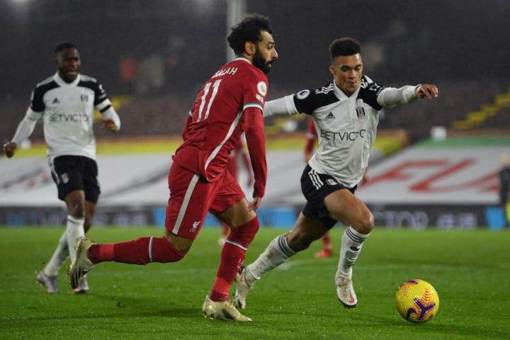 Salah endured a frustrating afternoon
