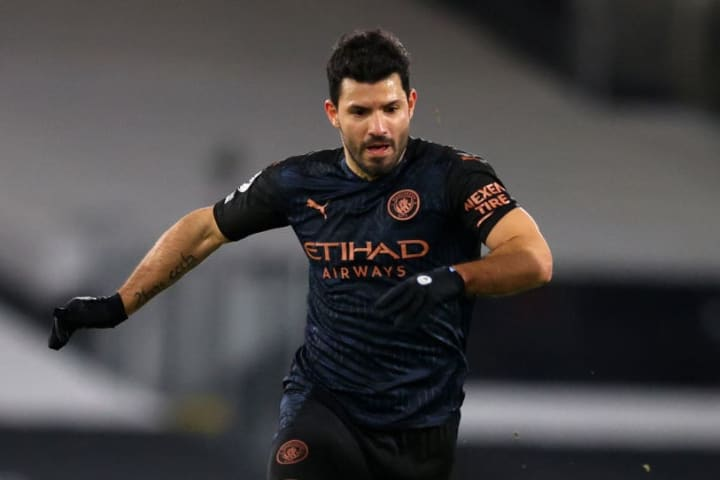 Sergio Aguero is on his way out of Man City