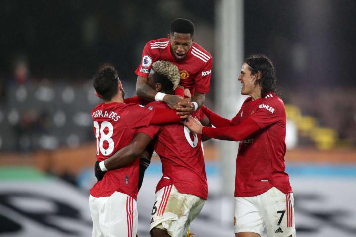 Paul Pogba, Bruno Fernandes, Fred, Edinson Cavani