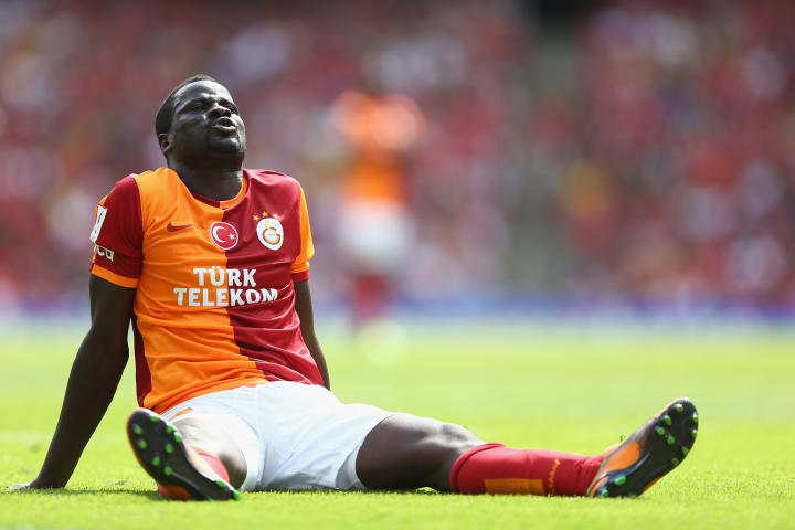 Emmanuel Eboue endured a spell of mixed fortunes with Galatasaray between 2011 and 2014