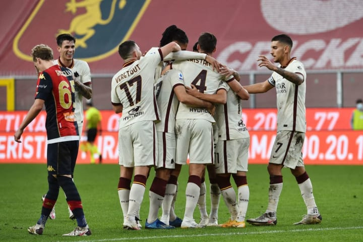 Genoa CFC-AS Roma - Serie A