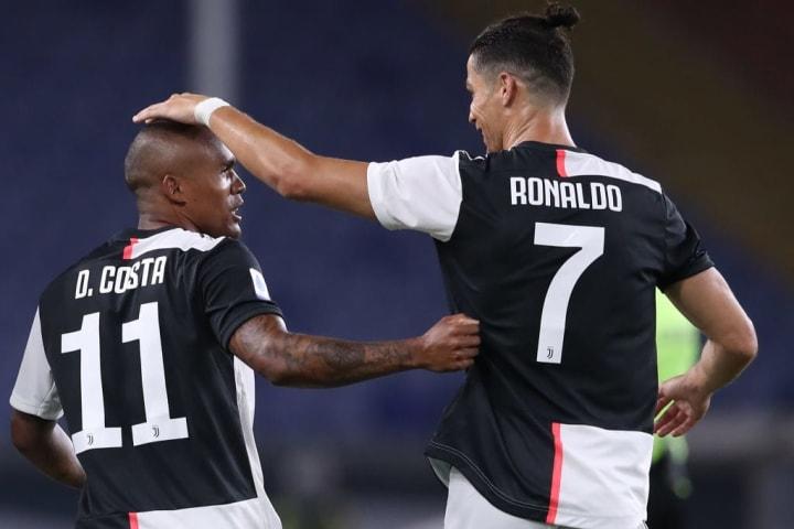 Cristiano Ronaldo, Douglas Costa