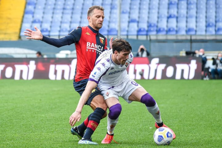 Genoa CFC vs ACF Fiorentina - Serie A