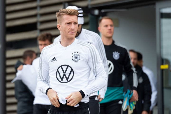 Marco Reus has only ever been to one European Championships in his career
