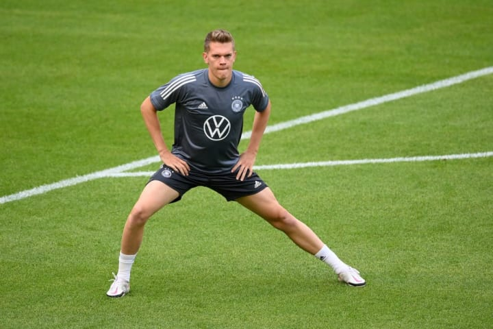 Matthias Ginter came on off the bench