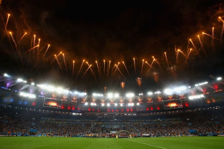 The Maracana has never looked better than when it hosted the 2014 World Cup final