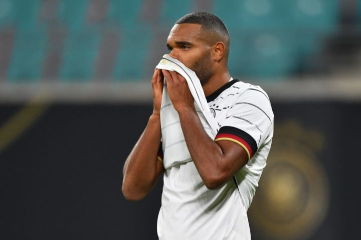 Jonathan Tah is yet to start a competitive fixture for Germany in 2020