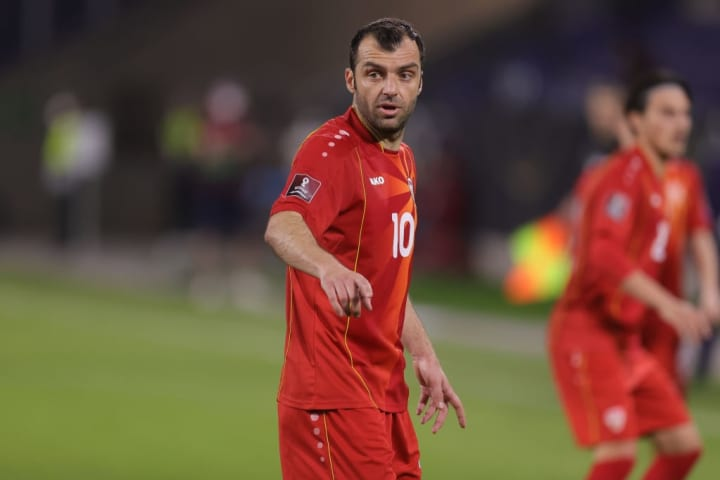 Goran Pandev will play in his first international tournament at 37