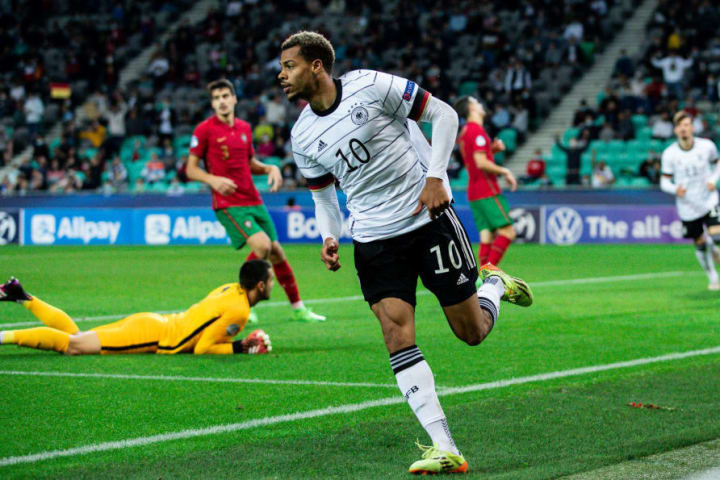 Lukas Nmecha spearheaded Germany's triumph at the European Under-21 Championship