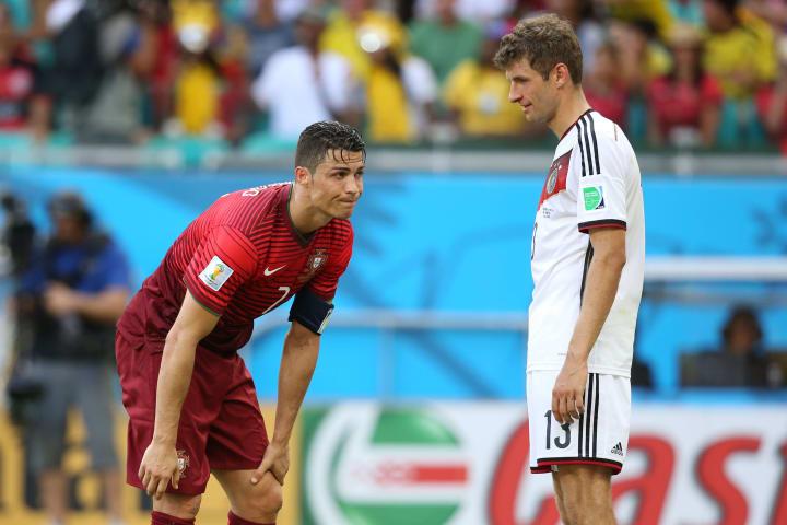 Cristiano Ronaldo, Thomas Mueller