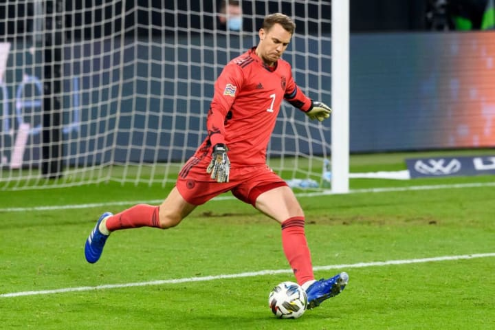 Manuel Neuer is arguably the best goalkeeper in the world and has bags of international experience.