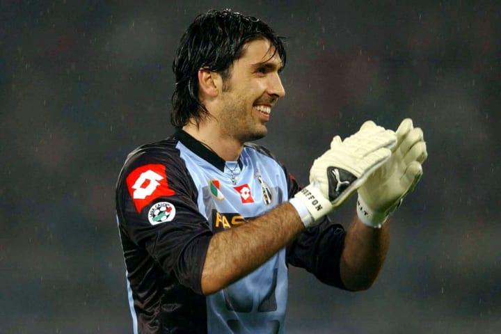 Gianluigi Buffon of Juventus in action