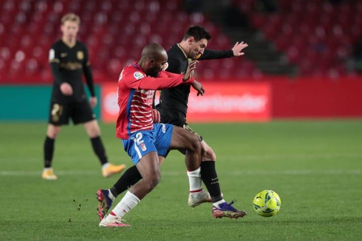 Lionel Messi, Dimitri Foulquier
