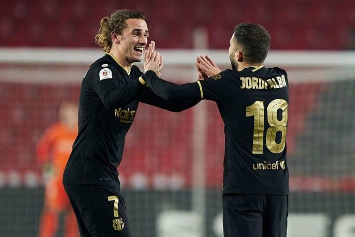 Griezmann und Alba führten Barcelona zum Comeback-Sieg