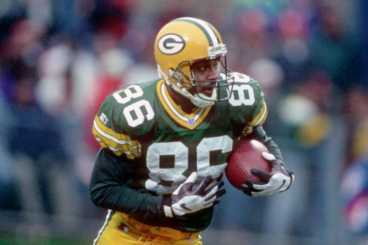 Former Green Bay Packers wide receiver Antonio Freeman