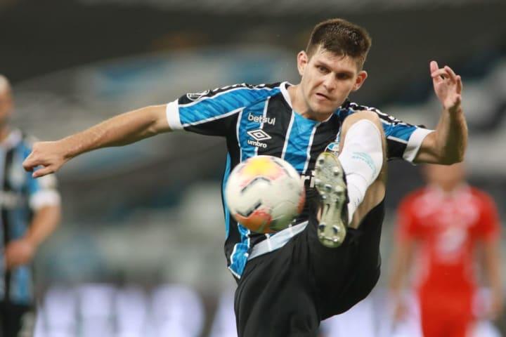 Walter Kannemann Grêmio Libertadores Del Valle Boletim Médico