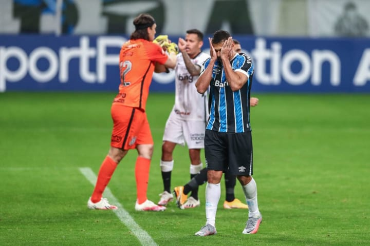 Diego Souza Grêmio Cássio Corinthians Rivalidade