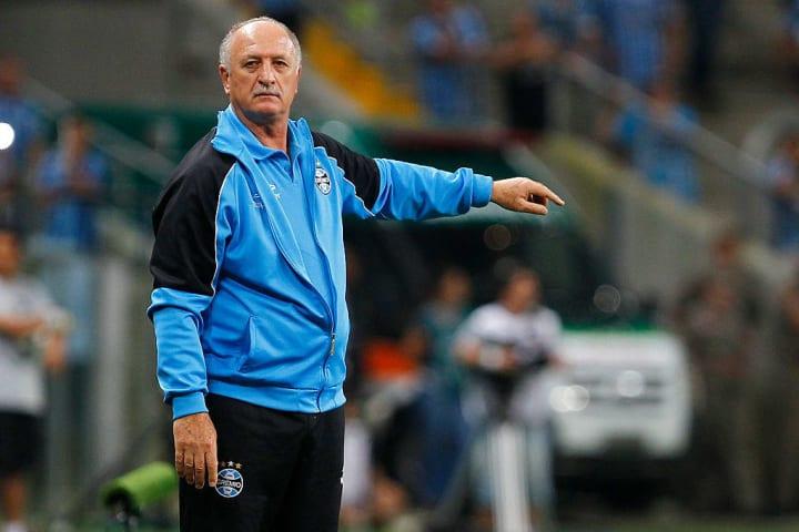 Luiz Felipe Scolari Grêmio Técnico Apresentação Gre-Nal