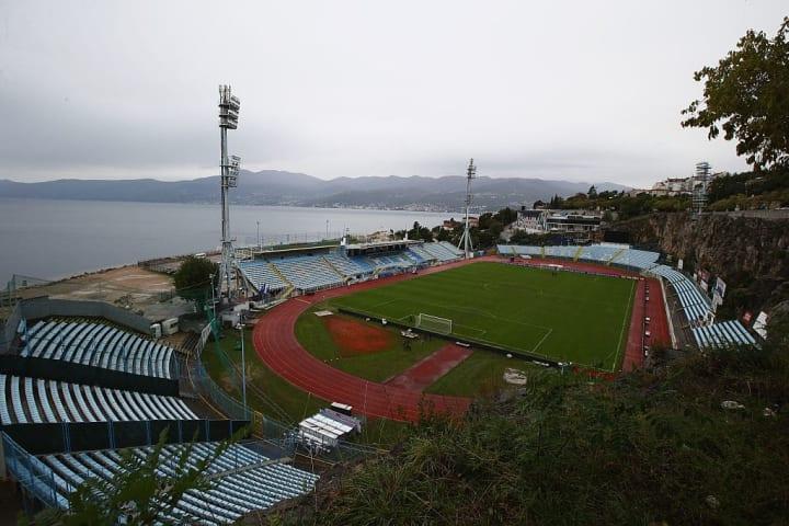 Stadium Kantrida Croácia Visual Cenário