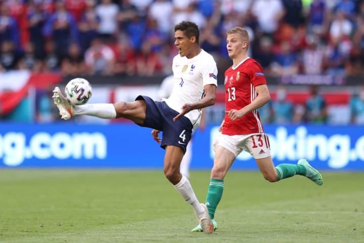 Raphael Varane is away on international duty with France