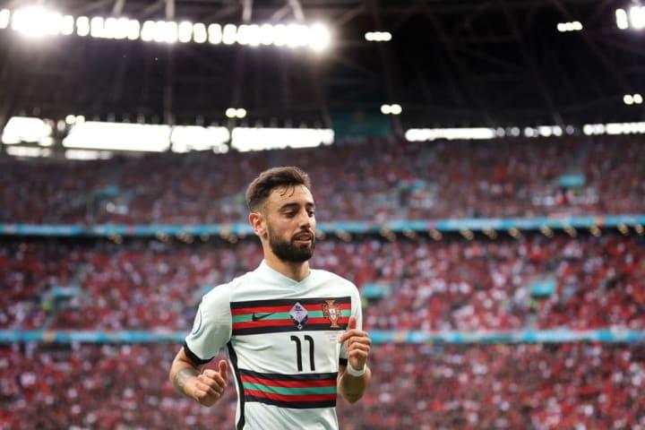 Bruno Fernandes Portugal Alemanha Sábado Eurocopa