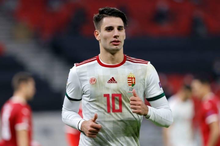 Szoboszlai is one of Hungary's key players