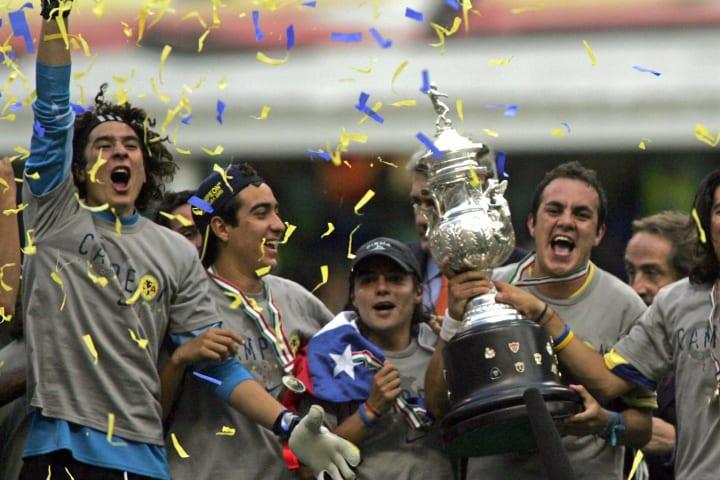 Guillermo Ochoa fue campeón con el Club América en el Apertura 2005 vs Tecos