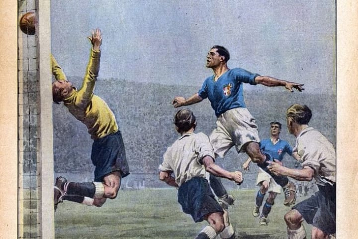 ITALY-ENGLAND WORLD CUP 1934