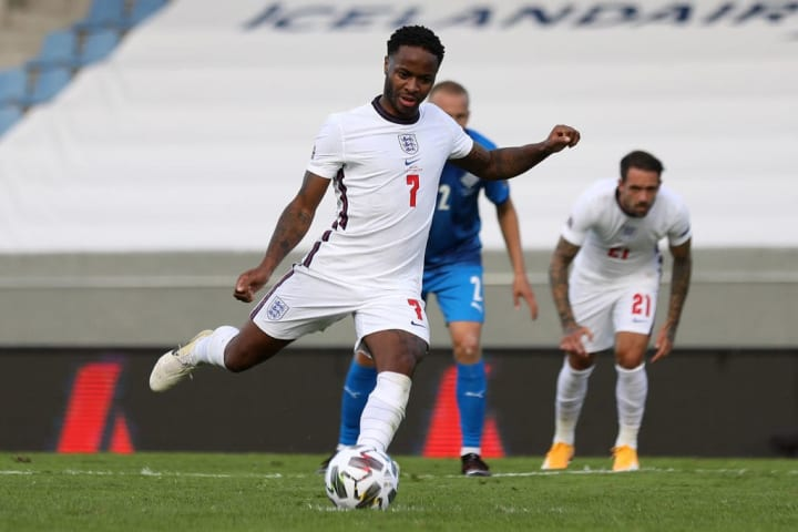 Sterling has been ruled out of all three of England's upcoming fixtures