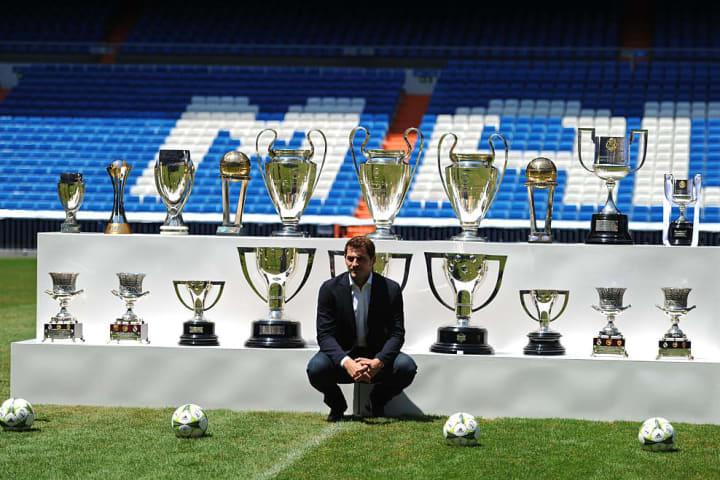 Real Madrid legend Iker Casillas