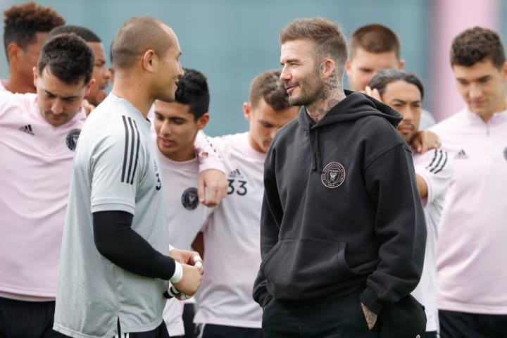 David Beckham is president of his own football club