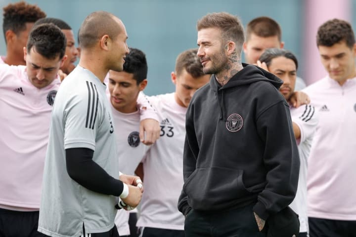 David Beckham co-owns Inter Miami