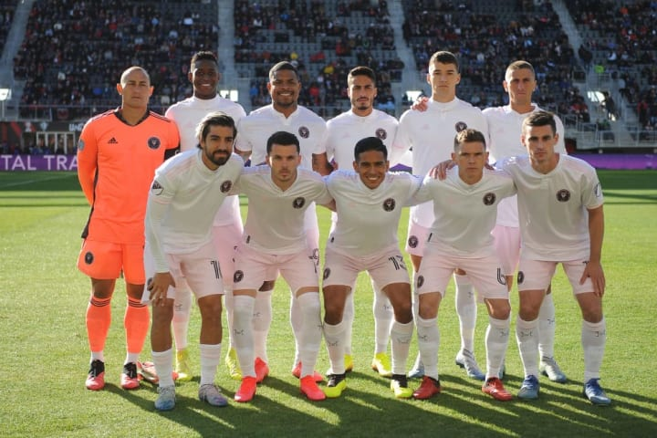 Inter Miami debuted in MLS in 2020
