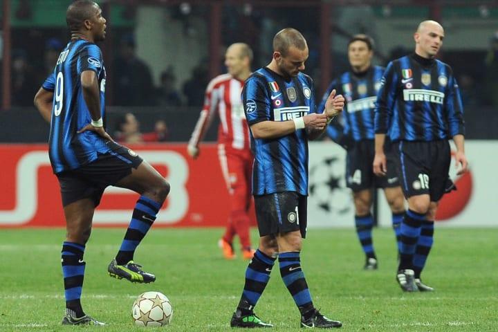 Samuel Eto o, Wesley Sneijder