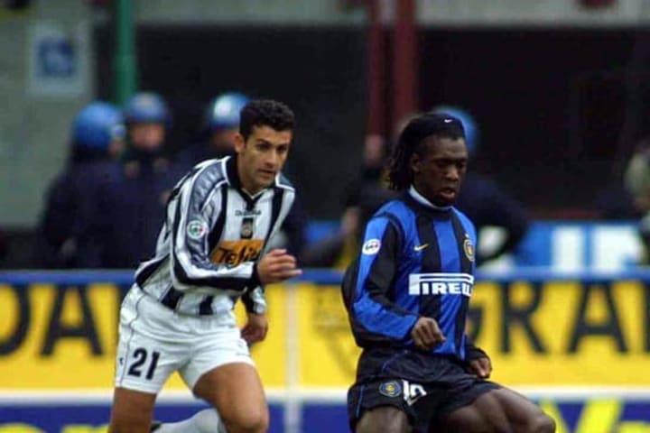 Clarence Seedorf saat bermain untuk Inter.