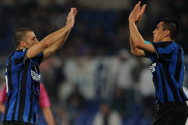 Inter Milan's Argentinine defender Walte