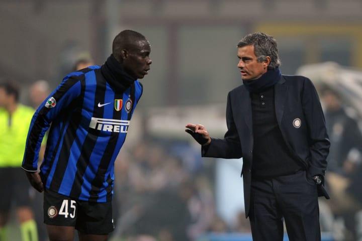 Inter Milan's Portuguese coach Jose Mour