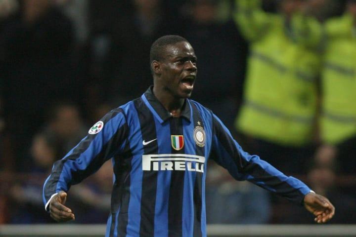 Inter Milan's forward Mario Balotelli ce