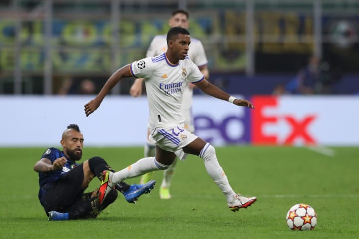 Real Madrid's matchday one winner came from Rodrygo