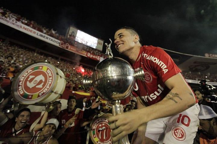 Internacional D'Alessandro Argentino História Libertadores