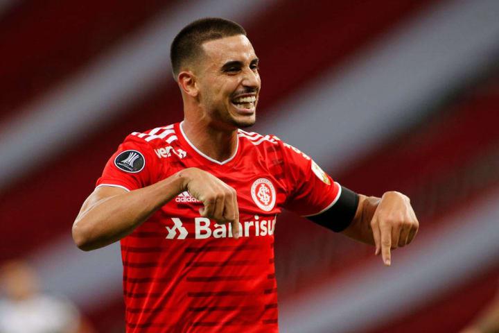 Thiago Galhardo Internacional Goleadas Gols Miguel Ángel Ramírez