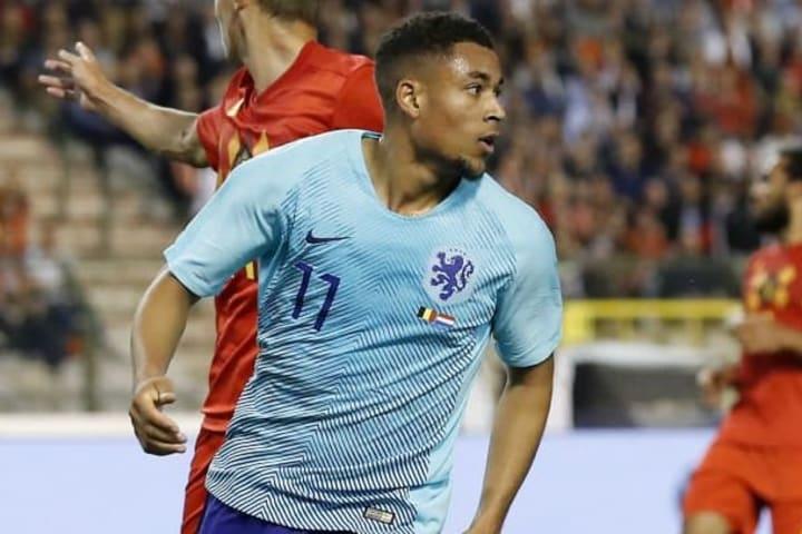 Danjuma has already been capped at senior international level by Netherlands