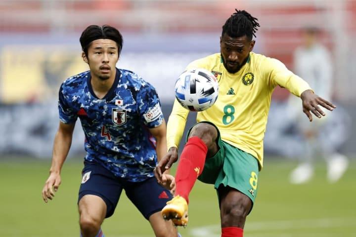"International friendly match""Japan v Cameroon"""