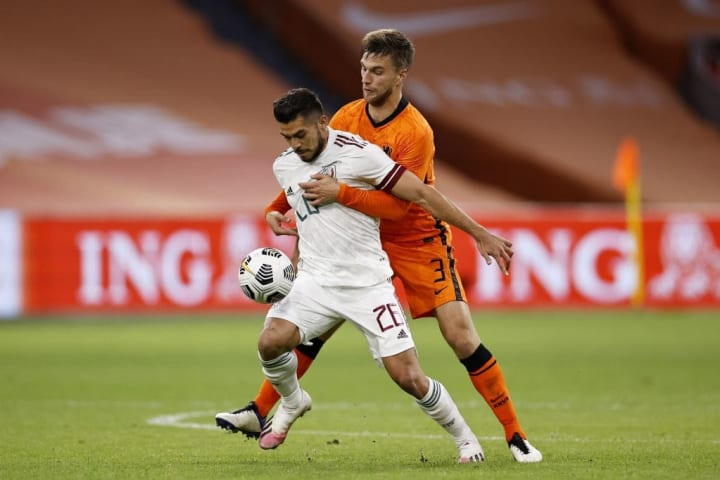 "International friendly match""The Netherlands v Mexico"""