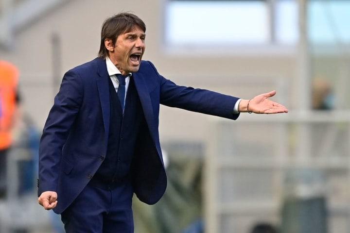 Inter manager Antonio Conte