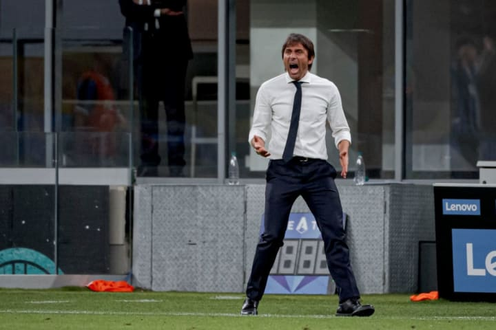 Antonio Conte will not let Inter take their foot off the pedal